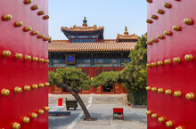 Lama Yonghe Temple In Beijing ...