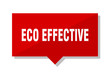 eco effective red tag