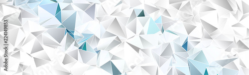 Triangular 3d, modern backg...