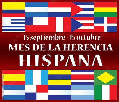 Fotografía  Hispanic Heritage Month Spanish