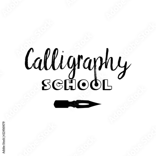 Art company lettering logo isolated design  Calligraphy