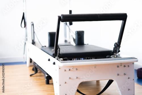 Photo  pilates reformer equipment