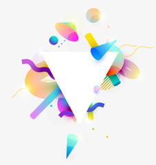 Composition  of 3D  primitive geometric shapes.