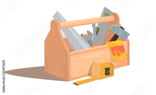 Foto Toolbox with tools