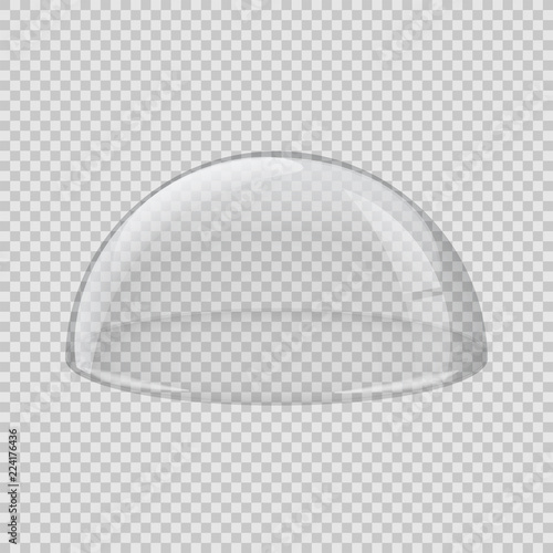 Fotografia  Transparent glass cover