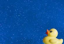 Rubber Duck In Corner