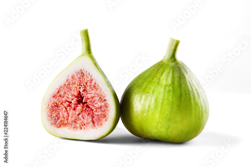 Fotografía  Figs isolated on white background