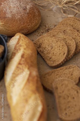 Deurstickers Brood Ekmek Çeşitleri
