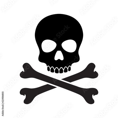 Платно pirate skull vector Halloween icon logo bone ghost skeleton illustration clip ar