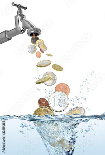 Cuadros en Lienzo Geld 1121