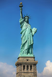 Fototapeta Nowy York - The Statue of Liberty at New York City