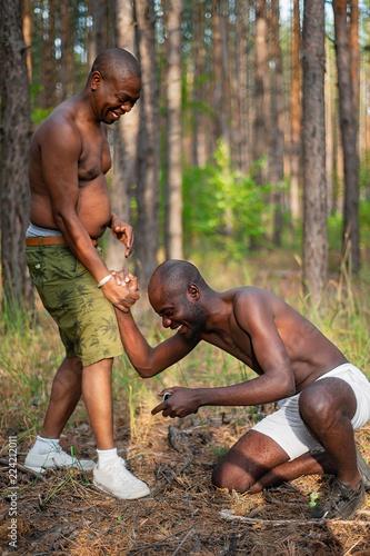 Black guys have fun