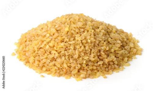 Heap of dry bulgur