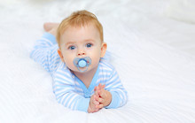 Charming Blue-eyed Baby 7 Mont...