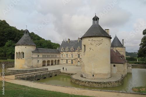 Fotografie, Obraz  Schloss Bussy-Rabutin, Burgund