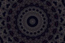 Abstract Kaleidoscope Pattern Background