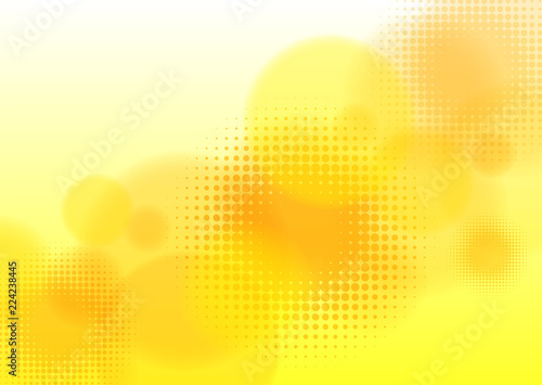 Obraz Abstract Yellow Background #Vector Graphics - fototapety do salonu