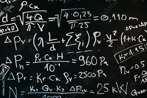 Thermal processes physics equations