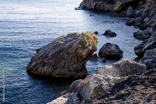 Foto op Canvas Kust View of the coast of Liapades / Corfu / Greece