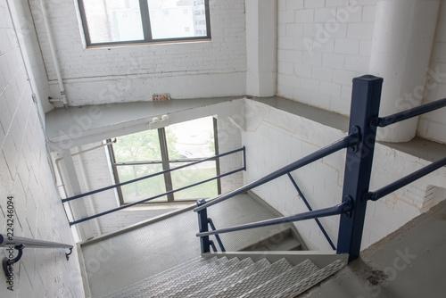 Foto op Plexiglas Trappen Industrial Stairway