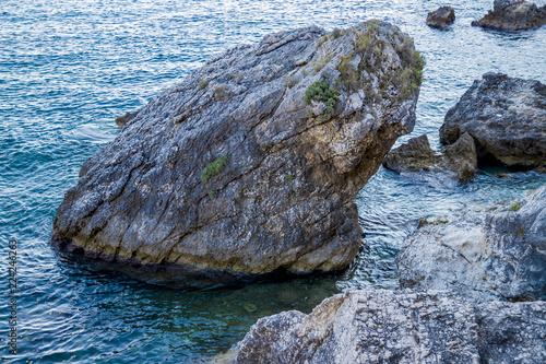 View of the coast of Liapades / Corfu / Greece