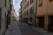 Villava, España, 21/09/2018 : View of the streets of Villava