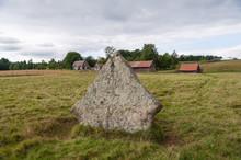 Ekornavallen, Ancient, Burial, Ground, Falköping. Sweden