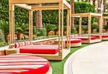 Colorful Poolside Cushions