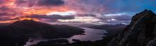 Ben Venue And Loch Katrine