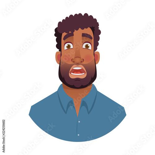 Fotografía  portrait of african man