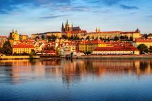 Prague Old Town, Czech Republic, On Sunrise