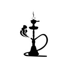 Hookah Silhouette For Design I...