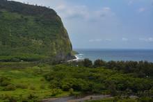 Waipio Valley On The Big Island Of Hawaii.