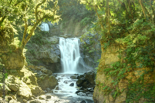 Poster Watervallen The famous Neidong Waterfall at New Taipei City, Taiwan
