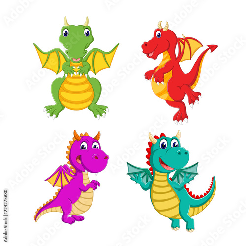 In de dag Regenboog the collection of the big dragon and it can fly with the different colour