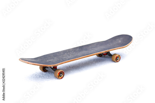 Skateboard. Isolated on white background