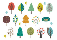 北欧風の木色々