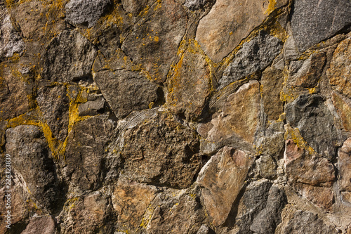 In de dag Stenen A stone masonry for a texture or a background. A fragment of the wall