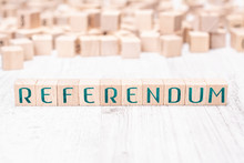 The Word Referendum Formed By ...