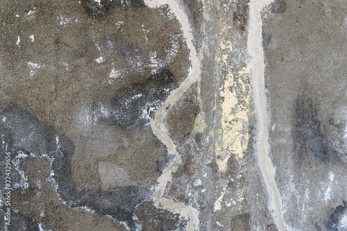 In de dag Stenen Cement polish beautiful texture ., Old grudgy stone cement wall background.