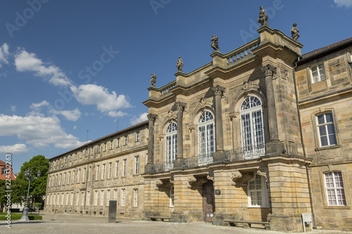 Foto  New Palace (Neues Schloss) in the town Baueruth in Germany