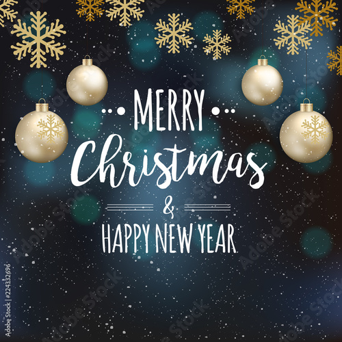 Elegant Christmas Background Hd.Elegant Christmas Background With Shining Gold Christmas