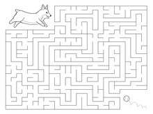 Maze Game For Kids. Help The W...