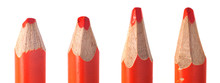 Used Colored Pencil Leads Macr...