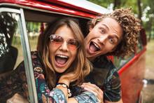 Photo Of Happy Hippie Couple S...