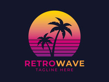 Retrowave Logotype