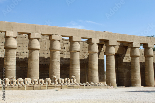 Ruin of Karnak Temple, Luxor, Egypt