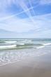 Blick aufs Meer vom Strand aus – Kijkduin Strand, Den Haag, Niederlande