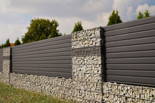 Wall. House Fence With An Inte...
