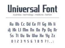 Universal Font For Business He...